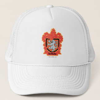 Cartoon Gryffindor Crest Trucker Hat