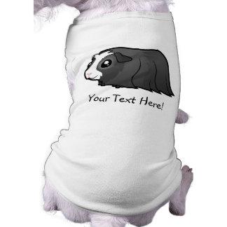 Cartoon Guinea Pig (long hair) Dog Tee