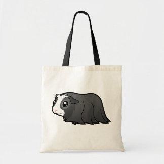 Cartoon Guinea Pig (long hair) Tote Bag