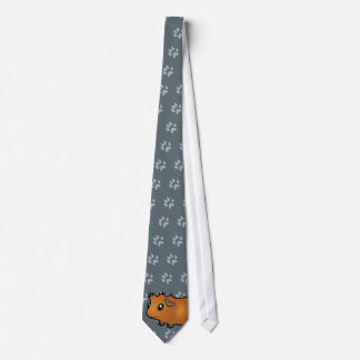Cartoon Guinea Pig (scruffy) Tie