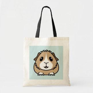 Cartoon Guinea Pig Shopping Bag