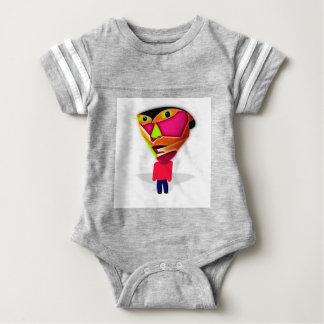 Cartoon Guy Baby Bodysuit