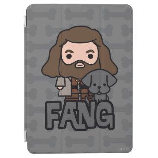 Cartoon Hagrid and Fang Character Art iPad Air Cover