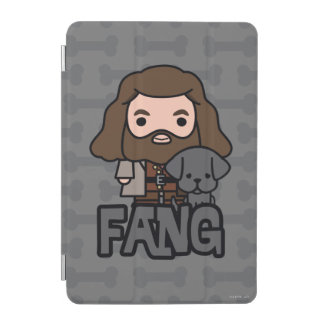 Cartoon Hagrid and Fang Character Art iPad Mini Cover