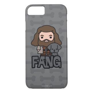Cartoon Hagrid and Fang Character Art iPhone 8/7 Case