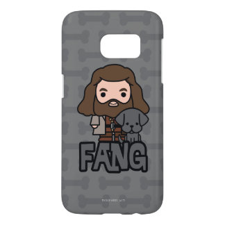 Cartoon Hagrid and Fang Character Art Samsung Galaxy S7 Case