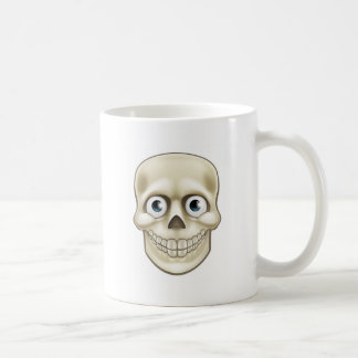 Cartoon Halloween Skull Skeleton Character Coffee Mug