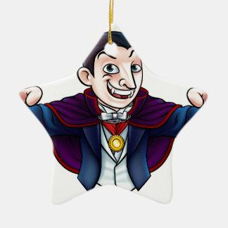Cartoon Halloween Vampire Ceramic Ornament