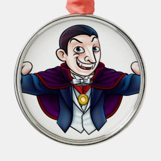 Cartoon Halloween Vampire Metal Ornament