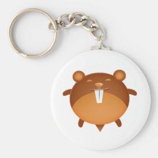 Cartoon Hamster Keychain