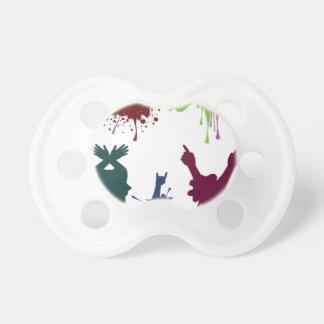 Cartoon Hands with Gestures 3 Pacifiers