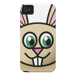 Cartoon Happy Rabbit iPhone 4 Covers