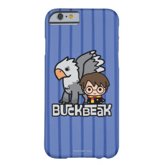Cartoon Harry Potter and Buckbeak Barely There iPhone 6 Case