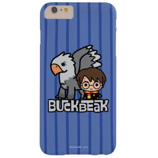 Cartoon Harry Potter and Buckbeak Barely There iPhone 6 Plus Case