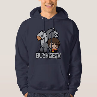 Cartoon Harry Potter and Buckbeak Hoodie