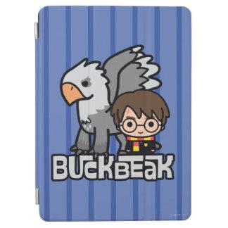 Cartoon Harry Potter and Buckbeak iPad Air Cover