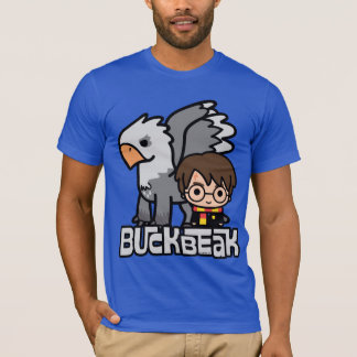 Cartoon Harry Potter and Buckbeak T-Shirt