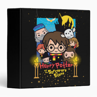 Cartoon Harry Potter and the Sorcerer's Stone Binders