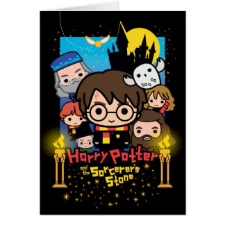 Cartoon Harry Potter and the Sorcerer's Stone Card