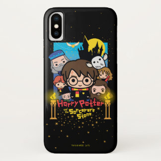 Cartoon Harry Potter and the Sorcerer's Stone Case-Mate iPhone Case