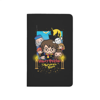 Cartoon Harry Potter and the Sorcerer's Stone Journal