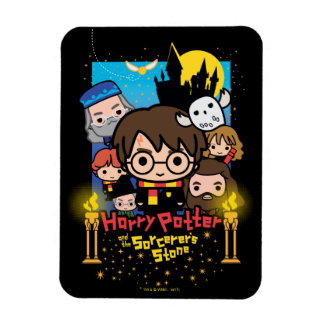 Cartoon Harry Potter and the Sorcerer's Stone Magnet
