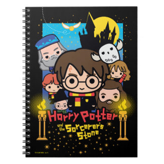 Cartoon Harry Potter and the Sorcerer's Stone Notebooks