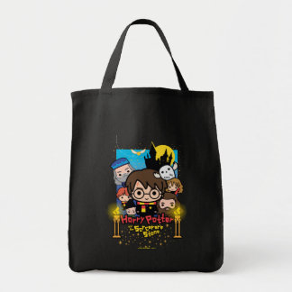 Cartoon Harry Potter and the Sorcerer's Stone Tote Bag