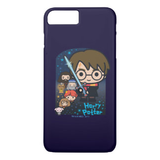 Cartoon Harry Potter Chamber of Secrets Graphic Case-Mate iPhone Case