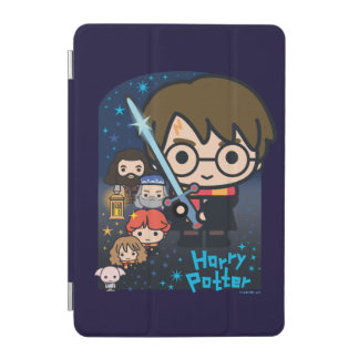Cartoon Harry Potter Chamber of Secrets Graphic iPad Mini Cover