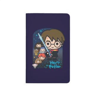 Cartoon Harry Potter Chamber of Secrets Graphic Journal