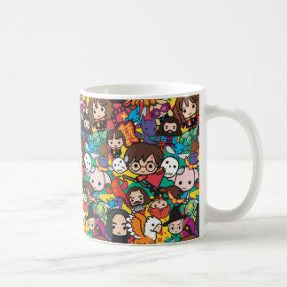 Cartoon Harry Potter Character Toss Pattern Coffee Mug