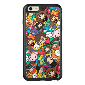 Cartoon Harry Potter Character Toss Pattern OtterBox iPhone 6/6s Plus Case