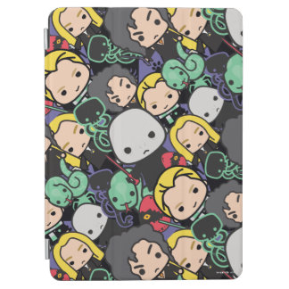 Cartoon Harry Potter Death Eaters Toss Pattern iPad Air Cover