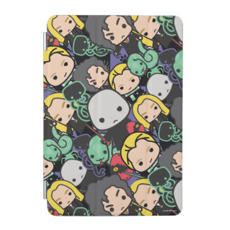 Cartoon Harry Potter Death Eaters Toss Pattern iPad Mini Cover