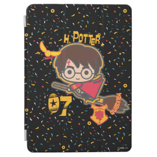 Cartoon Harry Potter Quidditch Seeker iPad Air Cover