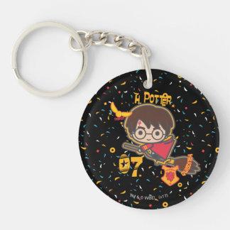 Cartoon Harry Potter Quidditch Seeker Keychain