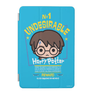 Cartoon Harry Potter Wanted Poster Graphic iPad Mini Cover