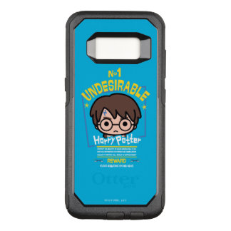 Cartoon Harry Potter Wanted Poster Graphic OtterBox Commuter Samsung Galaxy S8 Case