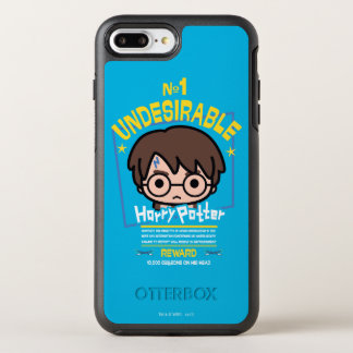 Cartoon Harry Potter Wanted Poster Graphic OtterBox Symmetry iPhone 8 Plus/7 Plus Case