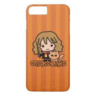Cartoon Hermione and Crookshanks iPhone 8 Plus/7 Plus Case