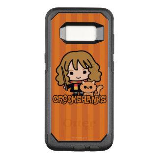Cartoon Hermione and Crookshanks OtterBox Commuter Samsung Galaxy S8 Case