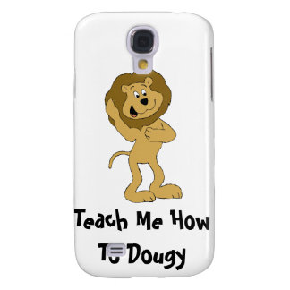 Cartoon Hip Hop Lion Doing The Dougie