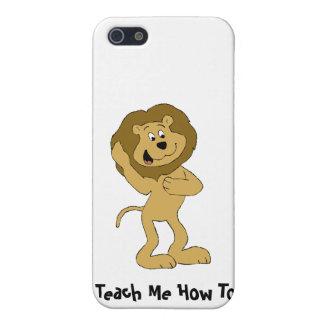 Cartoon Hip Hop Lion Doing The Dougie iPhone 5 Cover