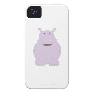 Cartoon Hippo iPhone4 Case