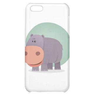 Cartoon Hippo iPhone 5C Case