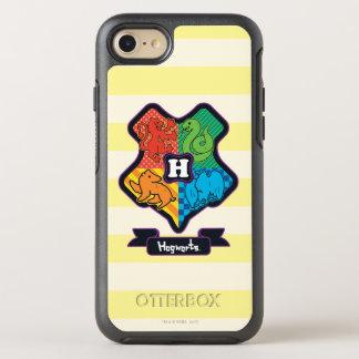 Cartoon Hogwarts Crest OtterBox Symmetry iPhone 8/7 Case