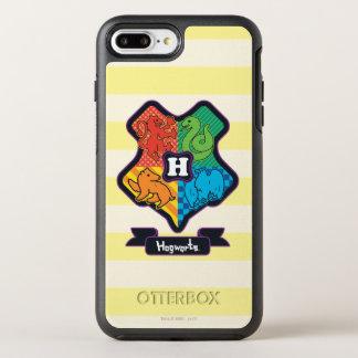 Cartoon Hogwarts Crest OtterBox Symmetry iPhone 8 Plus/7 Plus Case