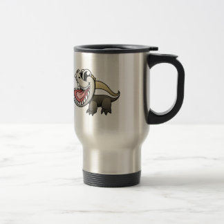 Cartoon Honey Badger Travel Mug