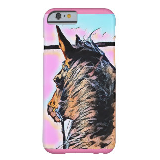 Cartoon horse iPhone case